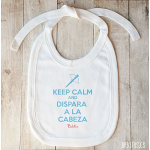 "Babero ""Keep Calm Zombie"" Tira"